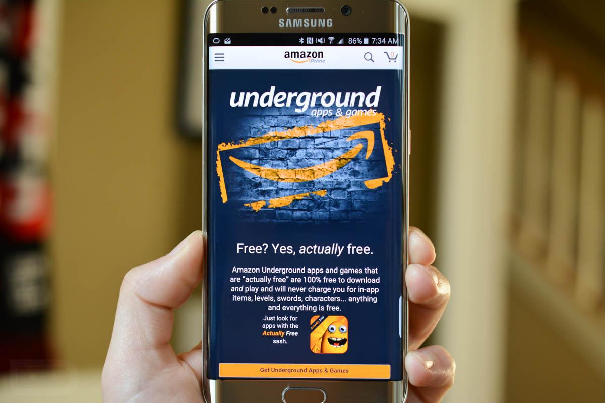 Applicazioni gratis Amazon Underground