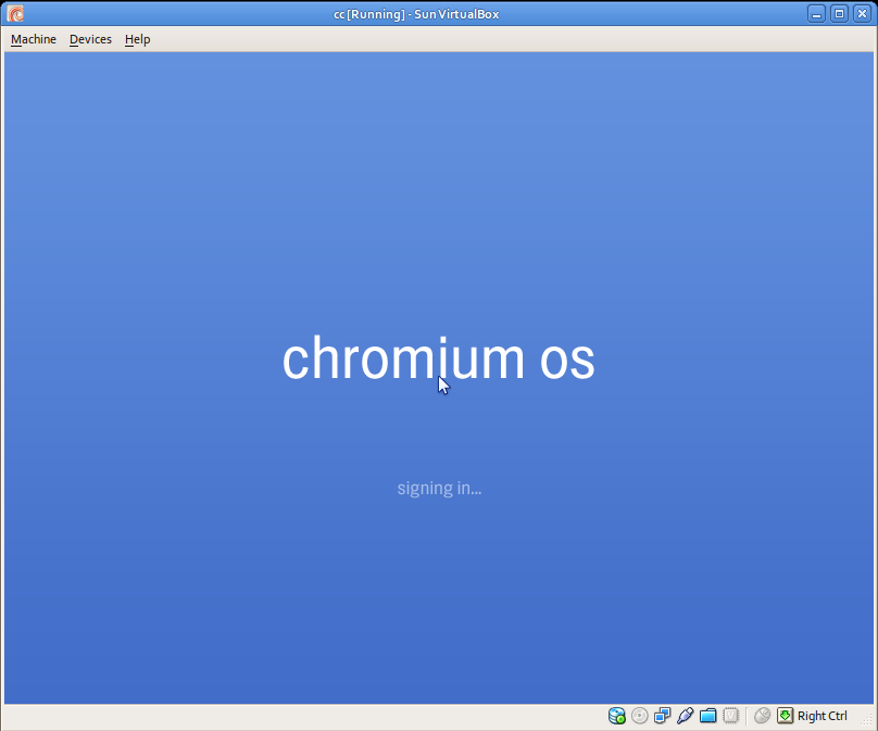 Chrome OS virtualizzazione