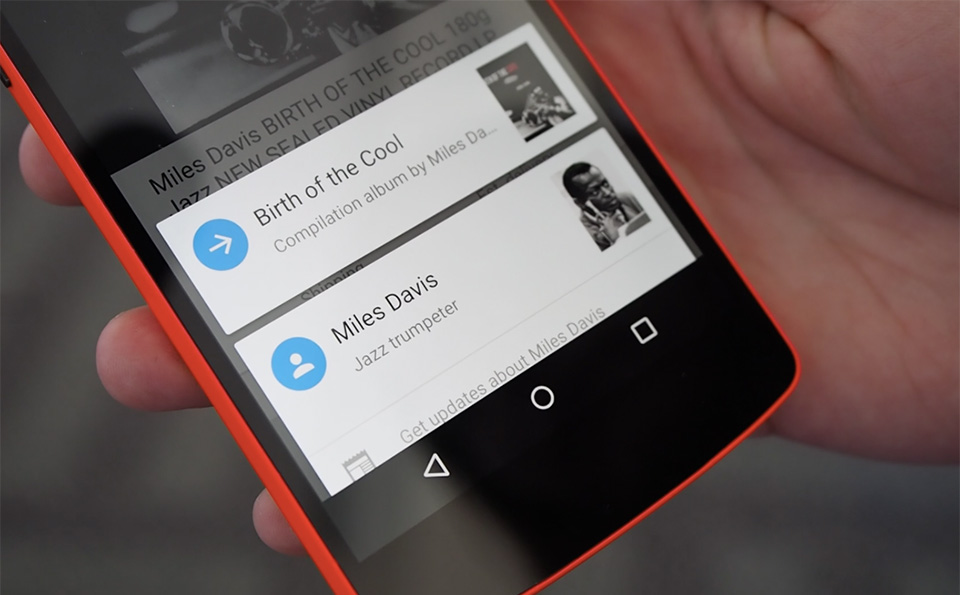 Google Now On Tap: disponibile ufficialmente in italiano