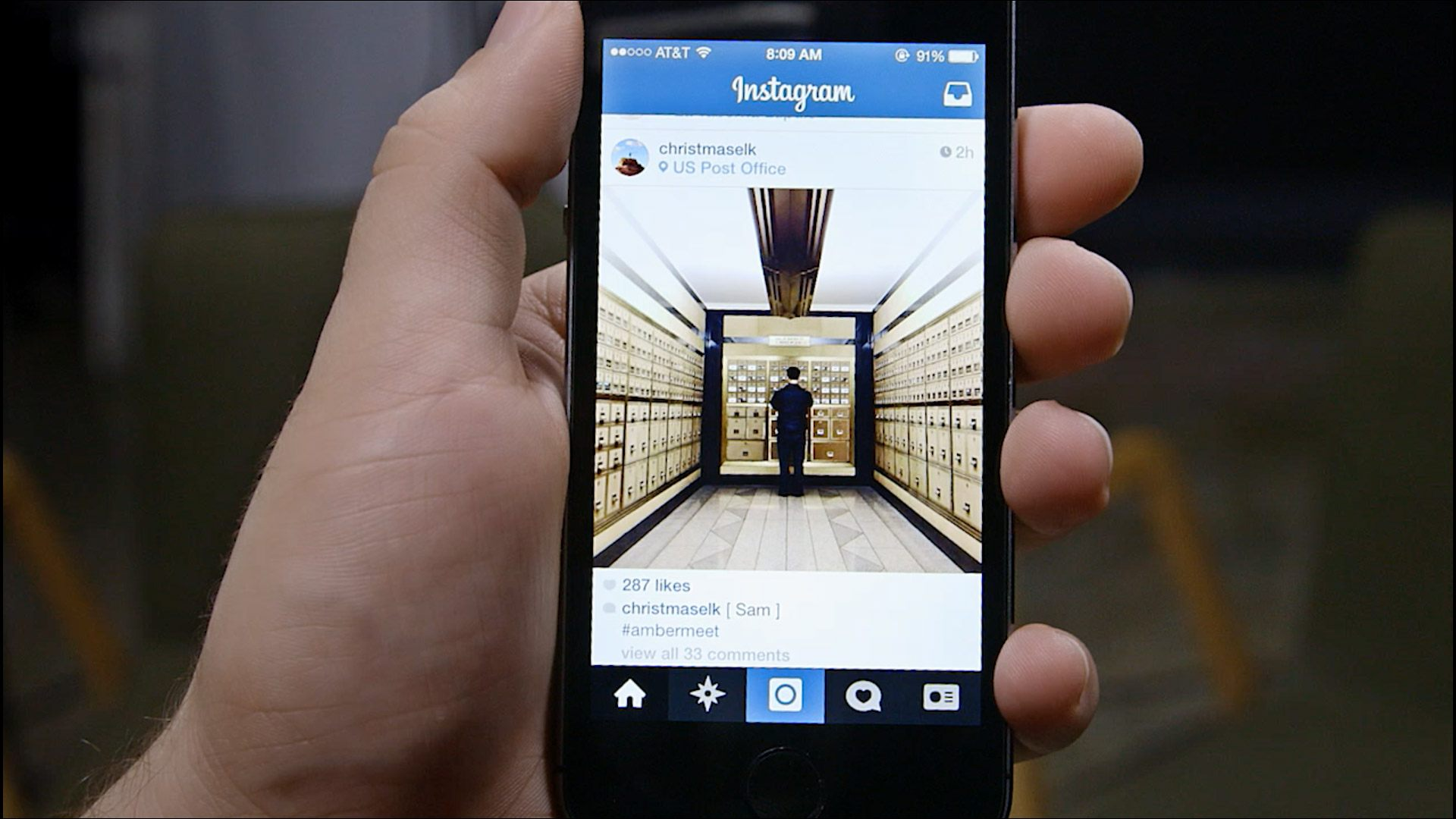 Instagram su iPhone