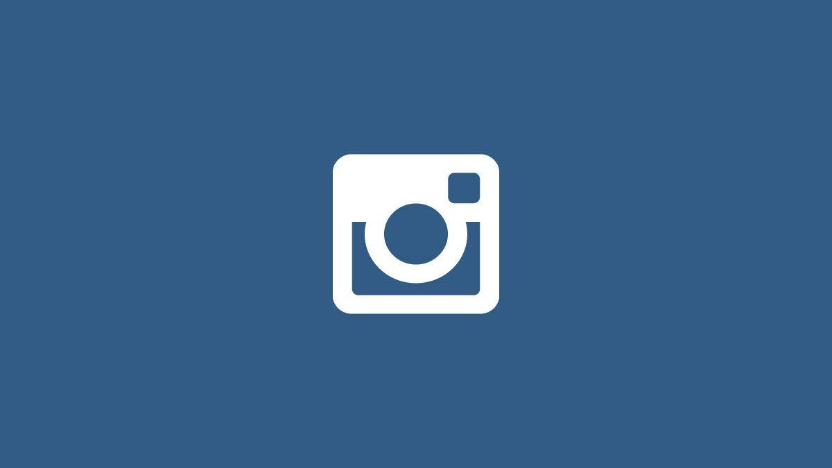 Logo minimalista Instagram