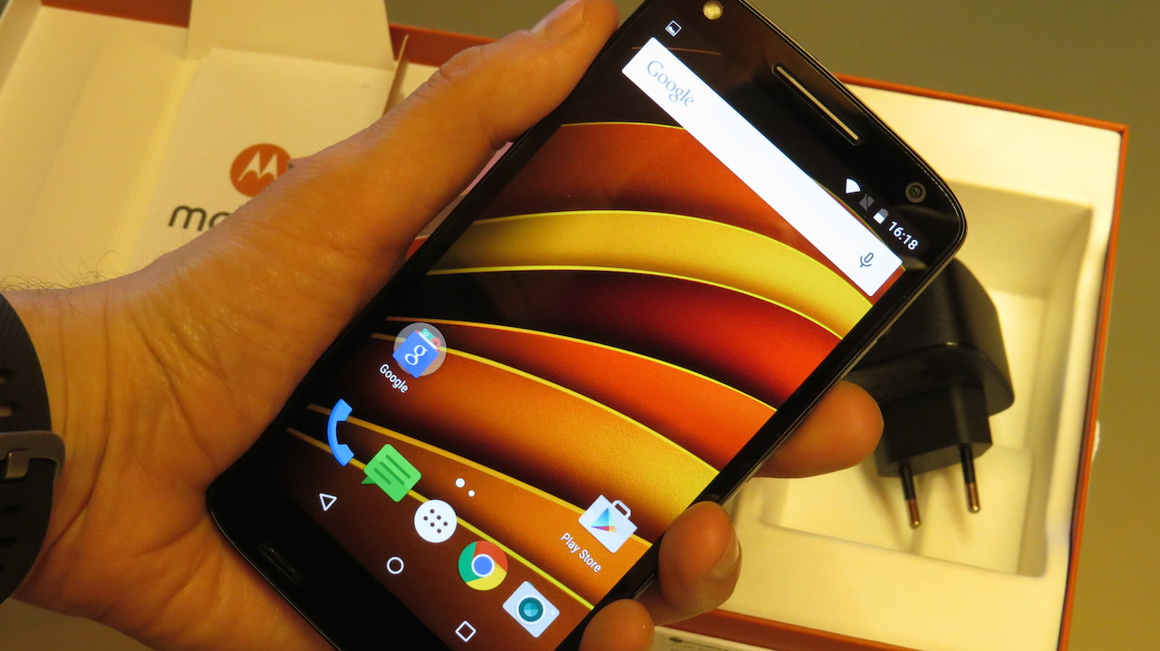 Motorola Moto X Force handson
