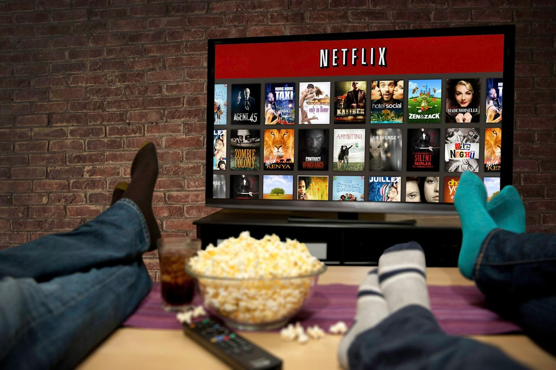 Netflix e Pop corn