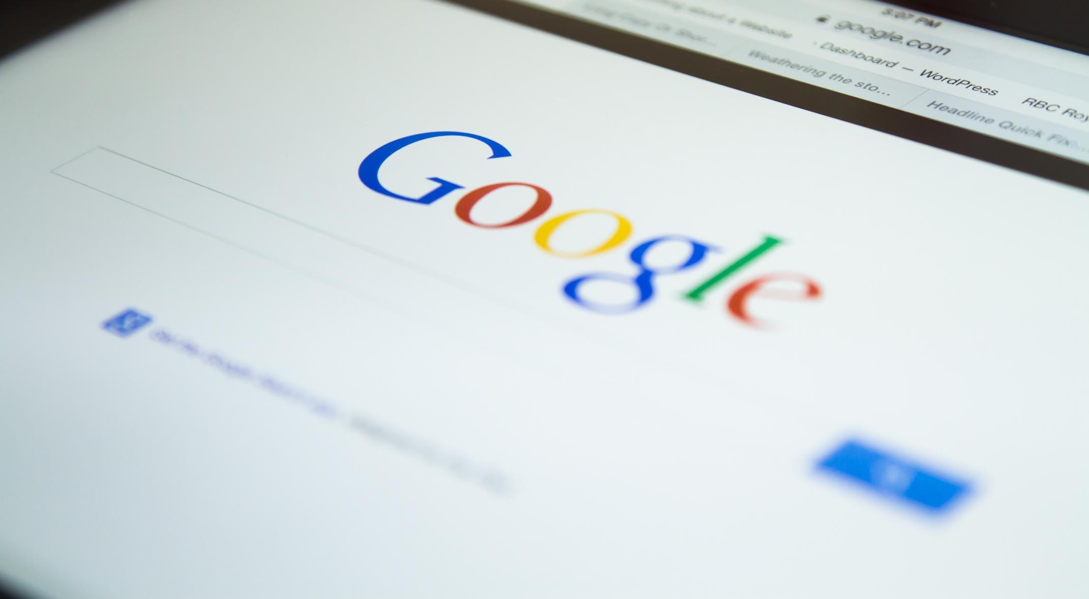 Schermata Google SEO