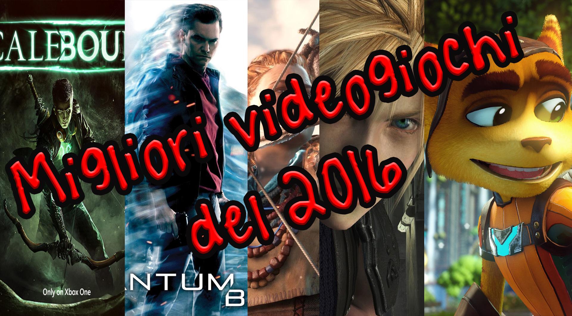 migliori giochi 2016