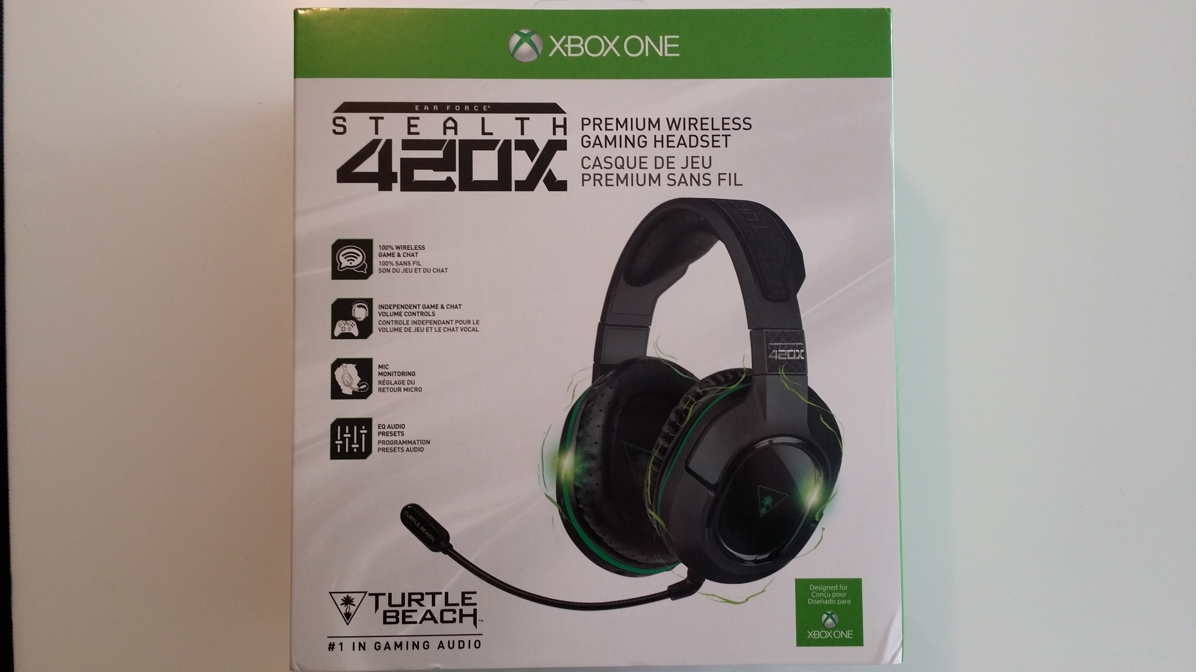 Turtle beach Ear force Stealth 420 x