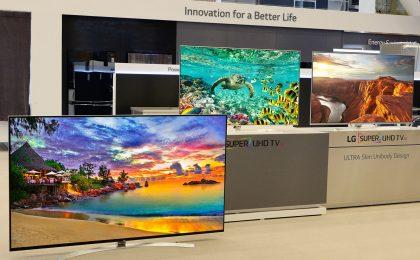 LG nuovi televisori LCD: risoluzione UHD e SUPER UHD / 8K