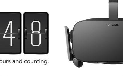 Oculus Rift: iniziano i preordini