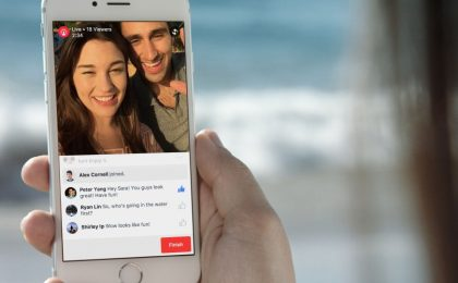 Facebook video live streaming: parte le sfida a Periscope