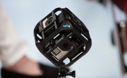 GoPro prepara una videocamera a 360 gradi