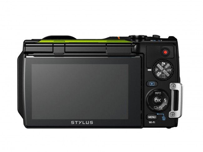 Olympus TG 870 schermo