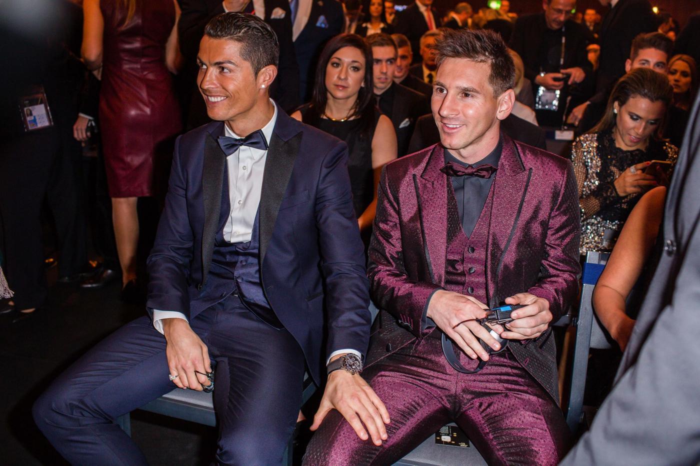 Pallone d'oro 2015 Ronaldo Messi