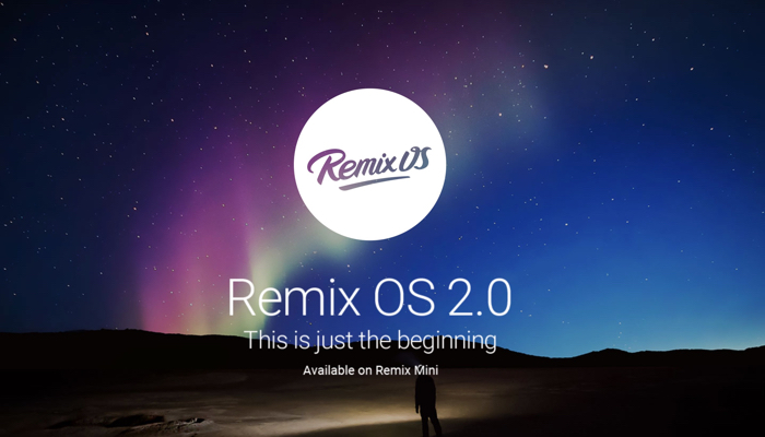 Android per PC: arriva Remix OS