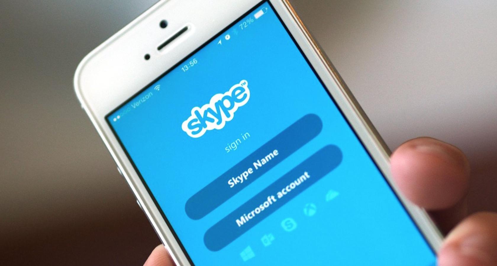 Skype, videochiamate di gruppo su smartphone e tablet