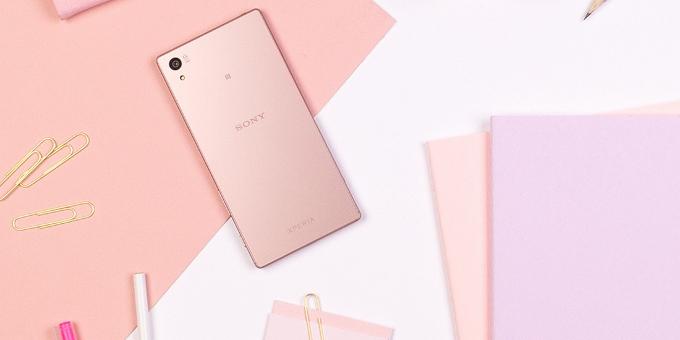 Sony Xperia Z5 rosa, lo smartphone per San Valentino 2016