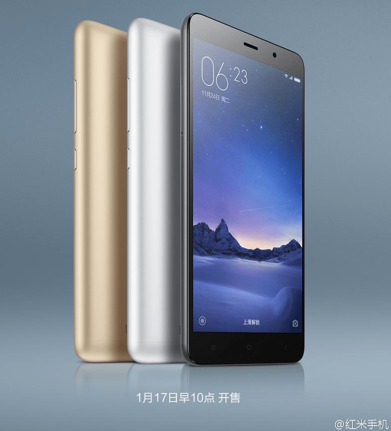 Xiaomi Redmi Note 3 Pro prezzo e scheda del nuovo phablet