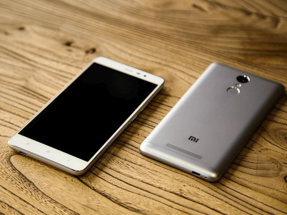 The Xiaomi Redmi Note 3 Pro scocca