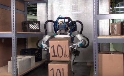 Atlas, il robot umanoide di Google