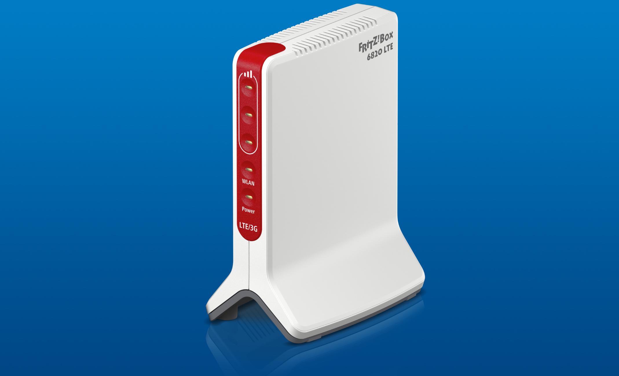 Router WIFI: FRITZ!Box 6820 LTE, internet ad alta velocità ovunque