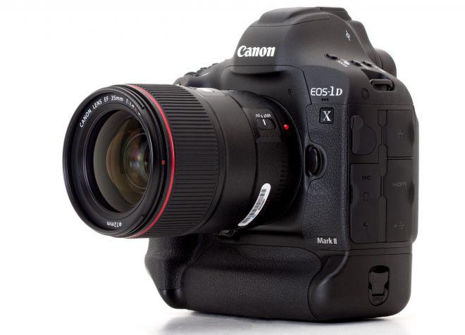 Canon EOS-1D X Mark II: prezzo e scheda della full-frame con supporto 4k