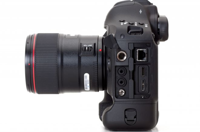Canon EOS 1D X lato