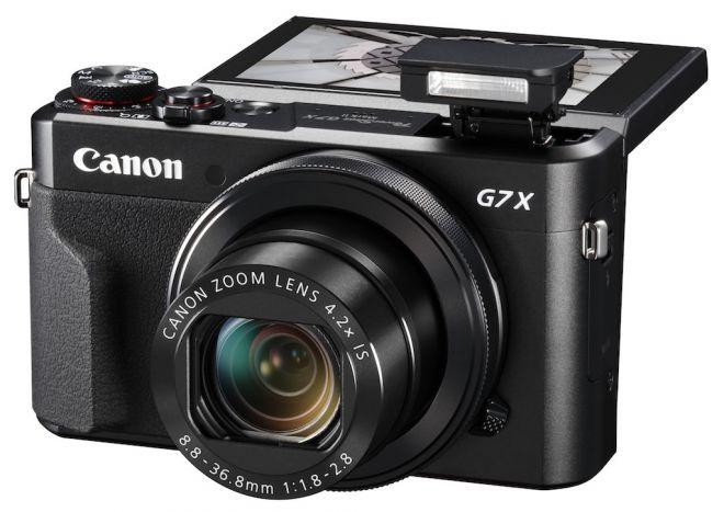 Canon G7X Mark II fronte