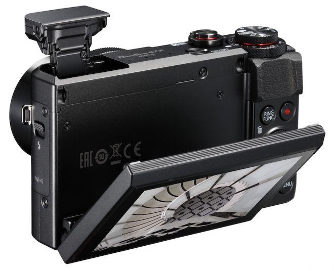 Canon G7X Mark II schermo