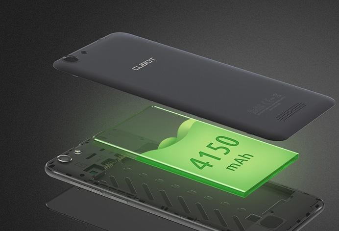 Cubot Note S batteria