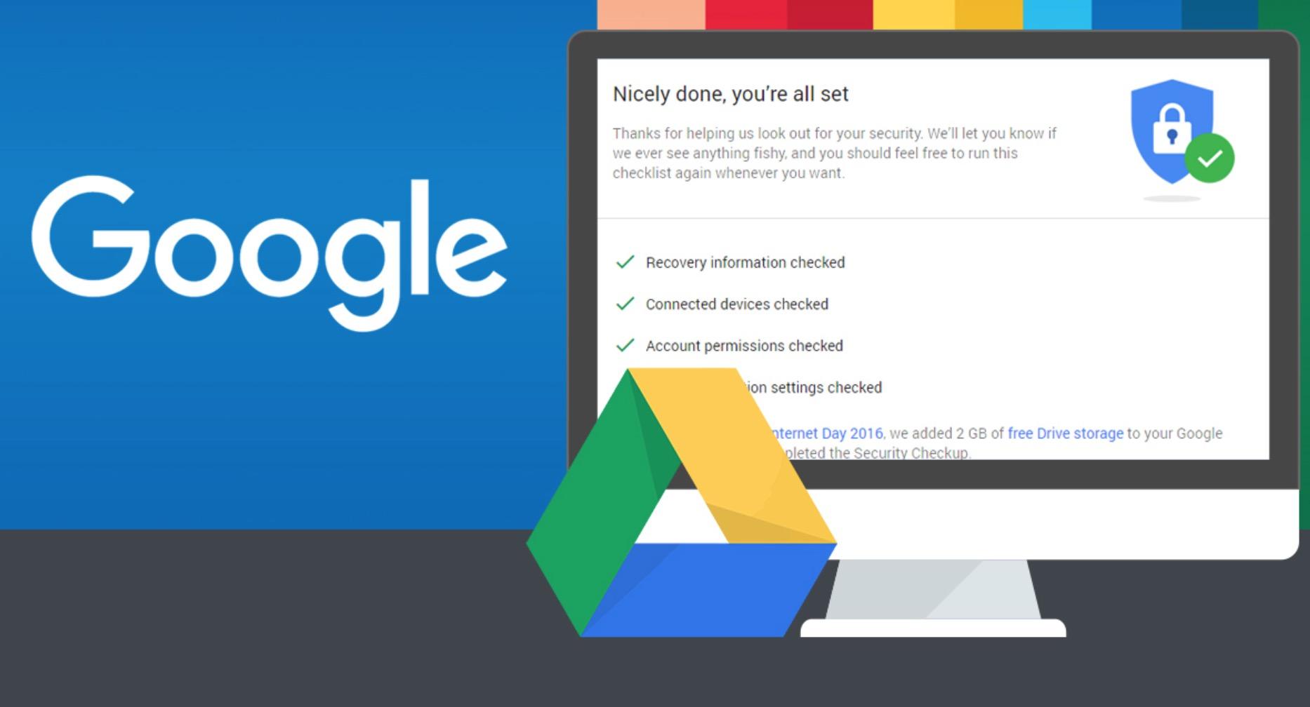 Google Drive 2GB storage gratuito