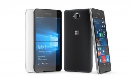 Lumia 650: prezzo, uscita e scheda tecnica ufficiale