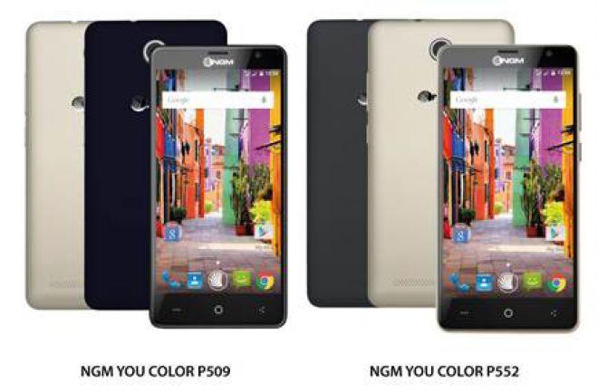 NGM You Color P509 e P552: prezzi e schede dal MWC 2016