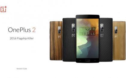 OnePlus 2 a un prezzo scontato: la scheda tecnica ufficiale