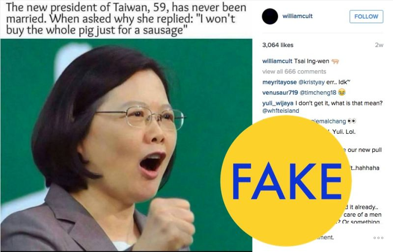 Taiwan presidente