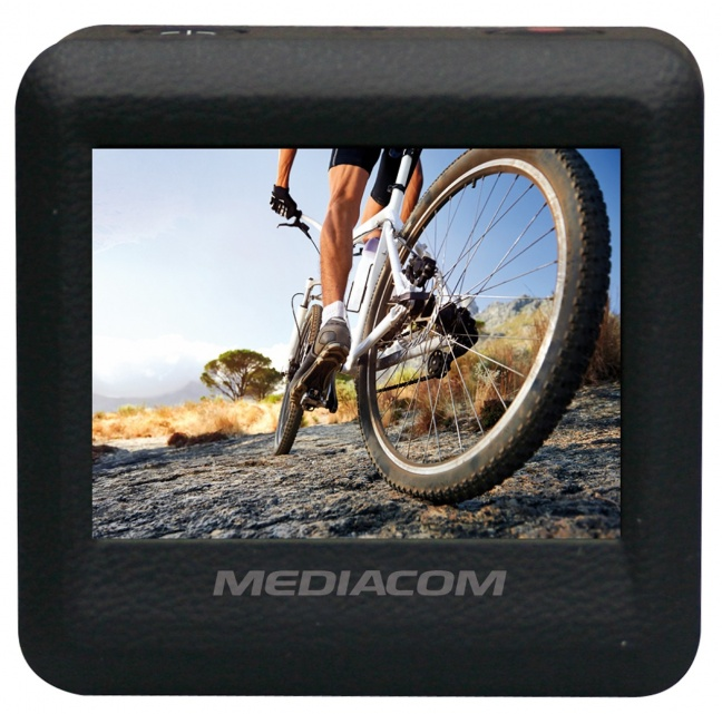 mediacom sportcam xpro 280 hd wi fi schermo