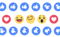 Nuovo tasto like Facebook: ecco i Reactions Emoticon
