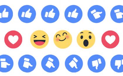 Nuovo tasto like Facebook: ecco i Reactions Emoticon