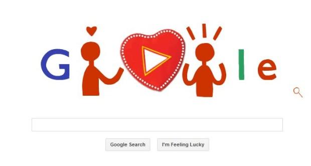 san valentino 2014 google doodle