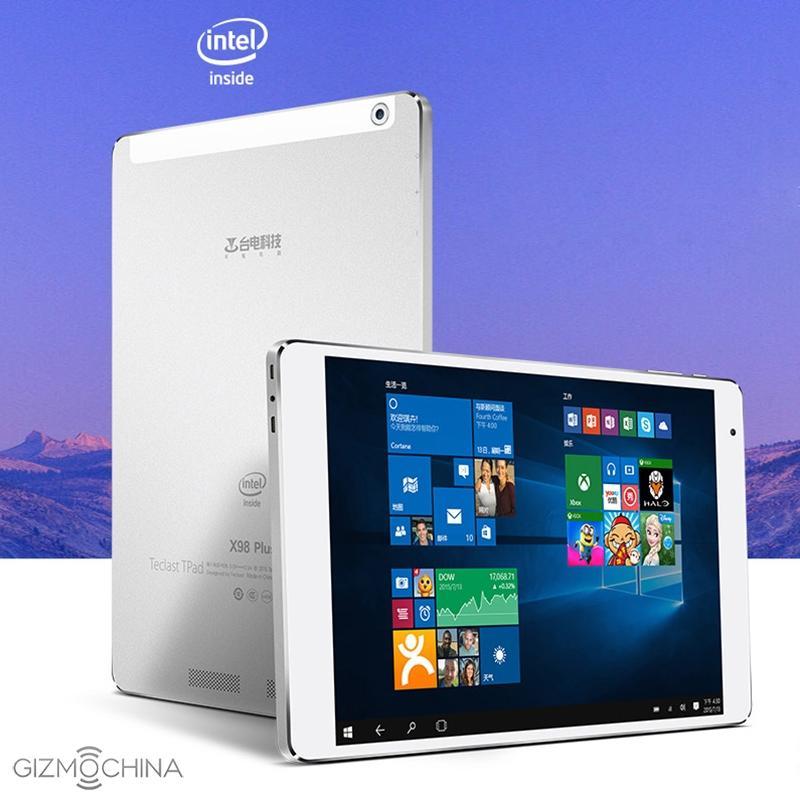 Teclast X98 Plus prezzo e scheda dell'ottimo tablet Android e W10
