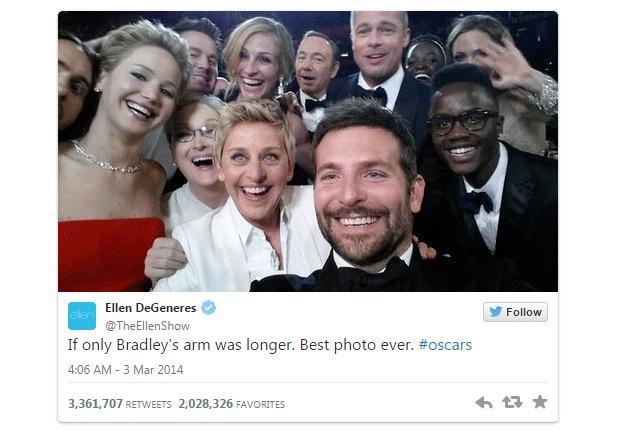 10 anni Twitter Oscar
