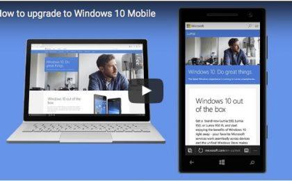Windows 10 Mobile: come aggiornare lo smartphone