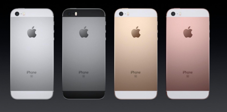 Colori iPhone SE