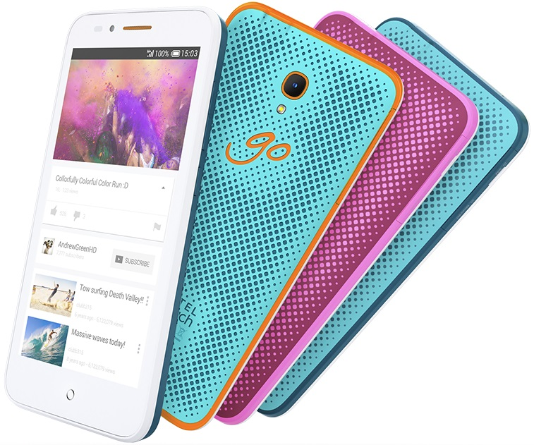 Design Alcatel Onetouch Go Play