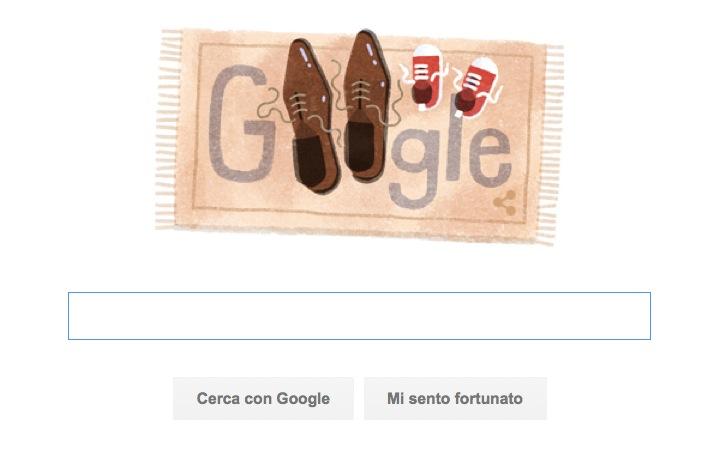 Google Doodle per la Festa del Papà con le scarpe
