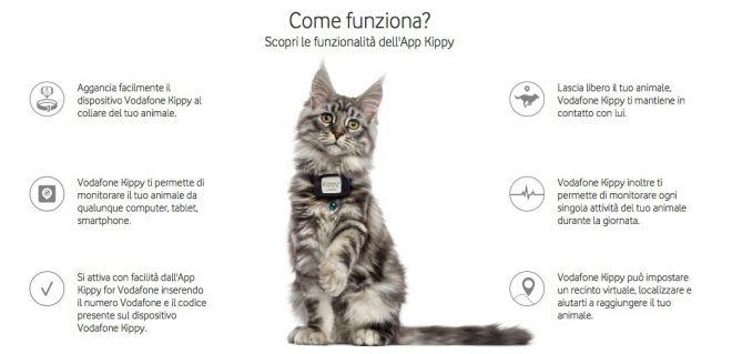 Funzioni Vodafone Kippy