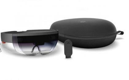 Microsoft HoloLens: scheda tecnica ufficiale e prezzo