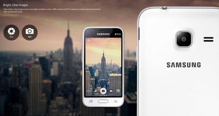 Samsung Galaxy J1 Mini bianco