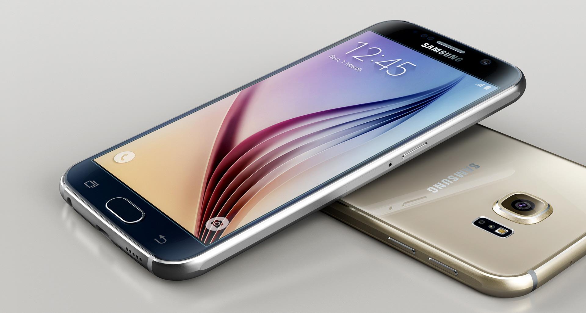 Samsung Galaxy S6 oro