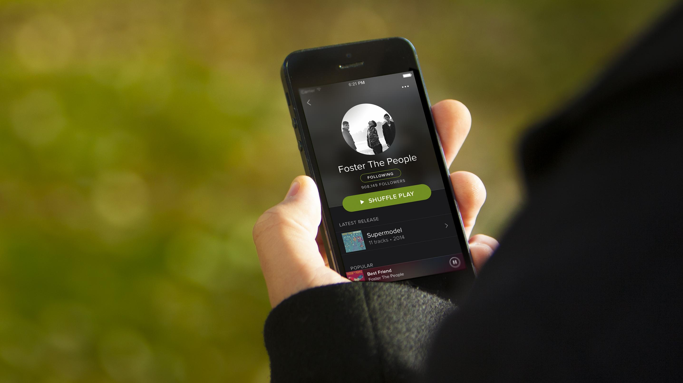 Spotify, arrivano le playlist degli artisti emergenti