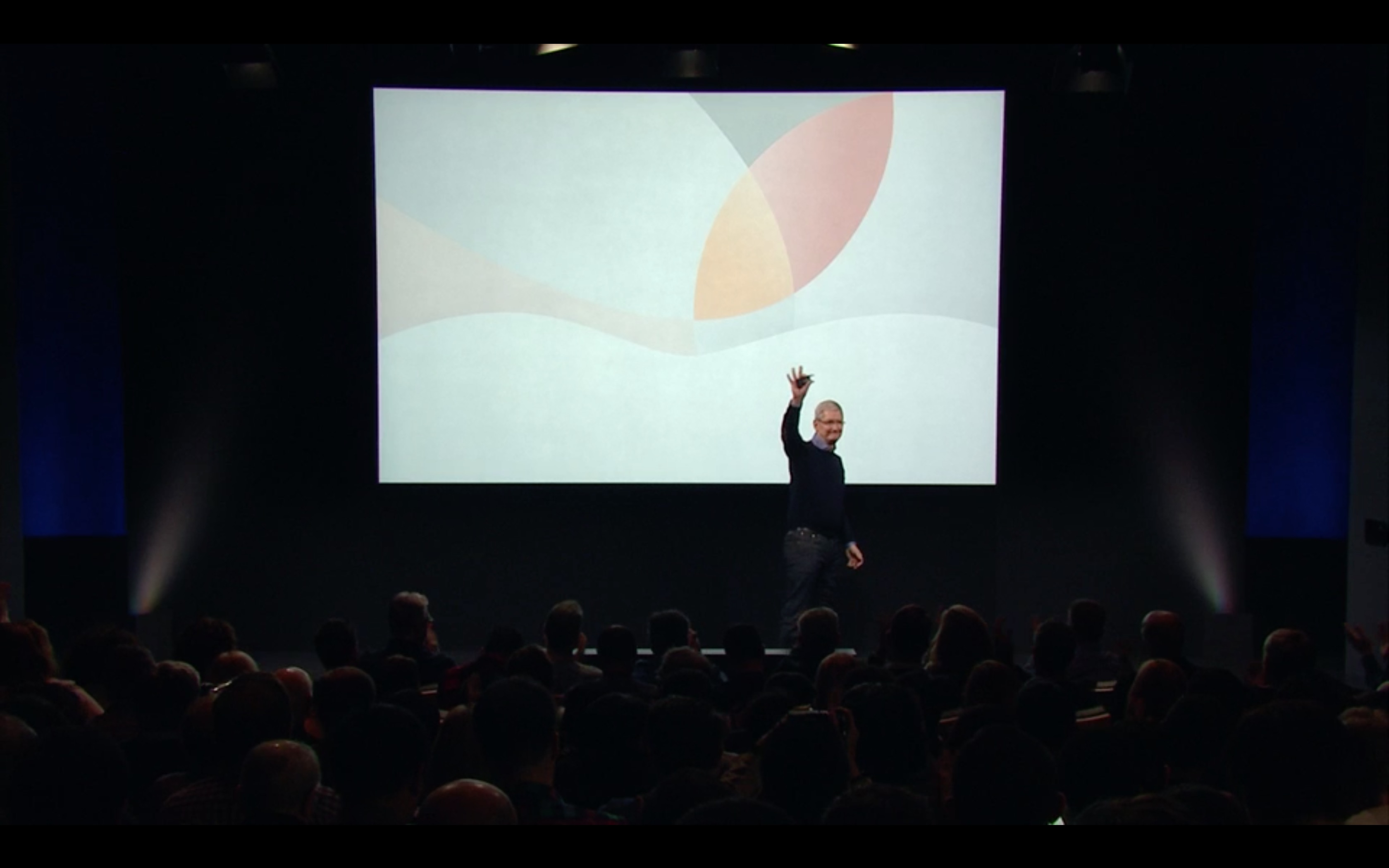 Tim Cook conclude evento Apple