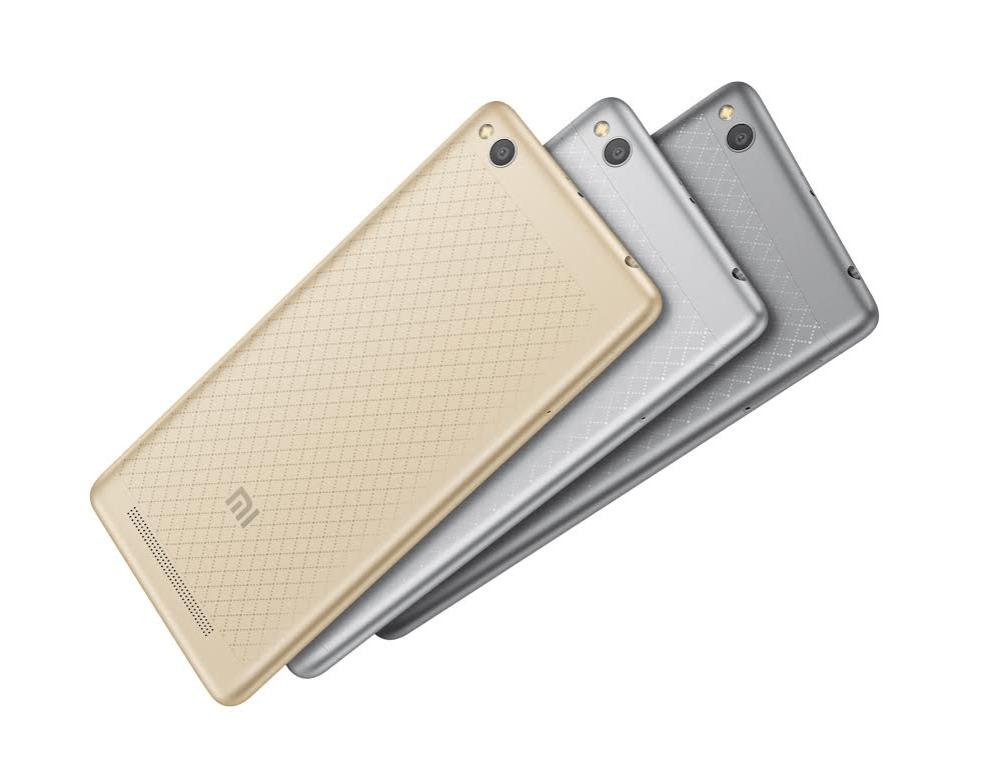 Xiaomi Redmi 3 colori